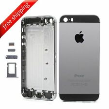 SCOCCA MIDDLE TELAIO COVER BACK POSTERIORE Per Apple iPhone 5s NERO  Silver