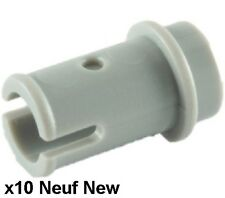 Lego Technic 10 connecteurs Gris Clair / Light bluish gray pins 1/2 NEW REF 4274