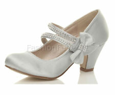 Unbranded Satin Formal Shoes for Girls