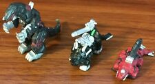 Zoids Battle Champions Miniature Figures robot dinosaurs Pvc minis Hasbro Tomy