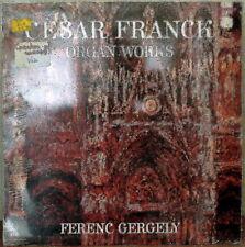 FRANCK: Organ Works-SEALED1981LP HUNGARIAN IMPORT Ferenc Gergely