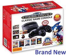 New Sega MegaDrive With 80 Built-In Games 25th Sonic - Mortal Kombat l, ll, lll