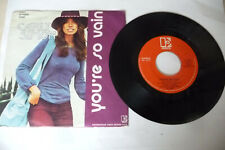 "CARLY SIMON""YOU'RE SO VAIN-DISCO 45 giri ELEKTRA Italy 1972"