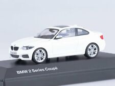 Scale model car 1:43, BMW 2er Coupe -white