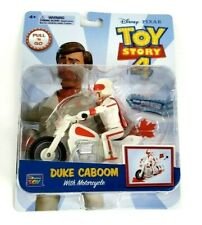 Disney Pixar Toy Story 4 Duke Kaboom With Motorcycle