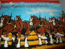 "New Briggs Clydesdale Budweiser Beach Bath Towel 52"" x 30"""