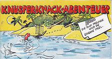 KNUSPER-KNACK-ABENTEUER Die zwei Freunde und die einsame InselPiccolo Werbecomic