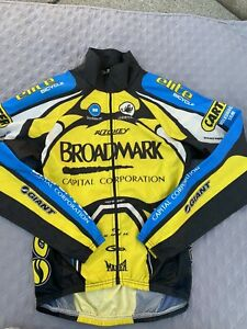 Castelli Squadra Cycling Bike Men's Wind Breaker Jacket Sz M