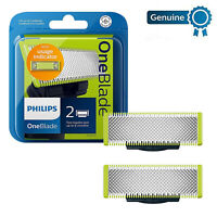 2x Philips QP21050 OneBlade Replacement Blades 2x Pack Replaceable Heads OB21050