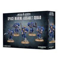 Warhammer 40K Space Marine Assault Squad 48-09