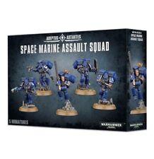 Warhammer 40k - Space Marine Assault Squad- Brand New! - 48-09