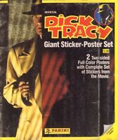 Official Dick Tracy Giant Sticker-Poster Set Panini 022017nonDBE