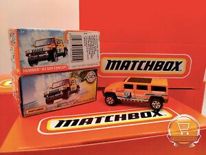 Hummer H2 SUV Concept MBX Coastal MATCHBOX Guardia Medica Costiera Metal Parts