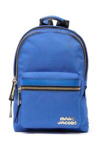Marc Jacobs Backpack Medium Nylon Trek Pack Dazzling Blue NWT $195