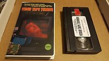 Video Tape Terror - VHS Horror 2013 Slasher Low Budget Digital SOV OOP Rare