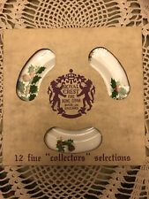 Royal Crest Fine Bone China made in England Collectors Christmas Plate