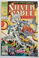 MARVEL | SILVER SABLE & THE WILD PACK | NR 6 (1992) | DEATHLOK PALADIN| Z 1-2 FN