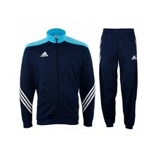 Kids Adidas Tracksuit Boys Full Zip Junior Football Training Tracksuits Running