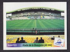 Panini - France 98 World Cup - # 13 Nantes - Stade de la Beaujoire