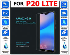 Genuine 100% TEMPERED GLASS Ultra HD Screen Protector For Huawei P20 Lite