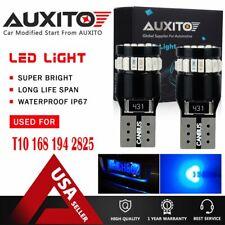 2X T10 168 194 W5W 2825 LED Car HID Blue CANBUS Error Free Wedge Light Bulb CHN