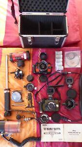 2 x Nikonos V Unterwasserkameras und viel Zubehör