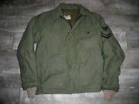 Vintage Vietnam Era US NAVY Deck Cold Weather A-2 Deck Size Men's Medium Jacket