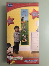 Brand New Disney Mickey Mouse Club House Growth Chart Self Stick and Removable