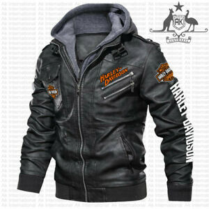 Harley-Davidson - LEATHER JACKET, BEST GIFT, NEW JACKET- SO COOL- HALLOWEEN