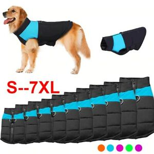 Dog Harness Pet Clothes Vest Puppy Winter Dress Fleece Warm Set Jacket Soft Coat