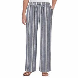 New! Briggs Ladies' Linen Blend Pull-On Pant Stripe    26