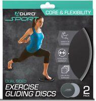 Aduro Sport Core Sliders for Women Home Workout Fitness Exercise Leg toner
