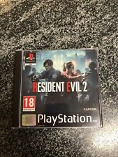 Resident Evil 2 Remake PS1 Case - !Ohne Spiel! - !NO GAME! - FANMADE