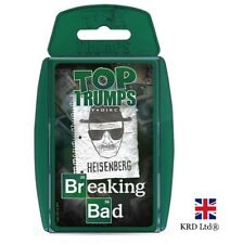 TOP TRUMPS BREAKING BAD CARD GAME Family Travel Holiday Play Christmas Gift UK