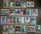 VINTAGE MLB COLLECTION (600+) Cards - 1970 - 1978.  VG EXC to EXC+ CREASE FREE