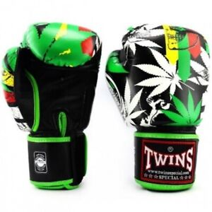 Twins Grass 12oz Boxing Gloves FBGVL3-54