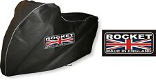 Triumph Rocket 3 111 Breathable Indoor Motorbike Cover with Rocket print
