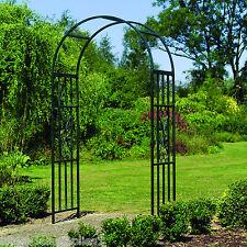 Kensington Metal Garden Arch - Rose Arches