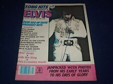 1980 SONG HITS MAGAZINE - ELVIS PRESLEY - PHOTOS OF HIS EARLY YEARS - II 9010