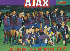 AJAX FOOTBALL TEAM PHOTO>1994-95 SEASON