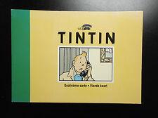 Carte téléphone Tintin N° 4 4000 exemplaires Tim Kuifje