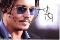 Johnny Depp  8 x 10 Autograph Reprint  21 Jump Street Pirates of the Caribbean
