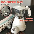 White Electric Coffee Maker Italian Classic Espresso 3 cups AU Stock