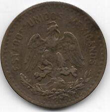 1917 MEXICO 5 CENTAVOS COIN  -  VF CONDITION - BV$225
