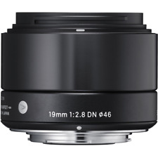 SIGMA 19 mm f2.8 DN Noir Art Series Lens: Sony E Mount CA2564