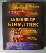 STAR TREK - LEGENDS OF STAR TREK TRADING CARDS LIMITED NUMBERED CARDS & BINDER