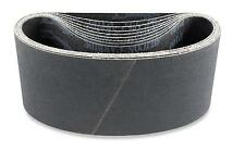 4 X 21 3/4 Inch 80 Grit Silicon Carbide Sanding Belts, 3 Pack