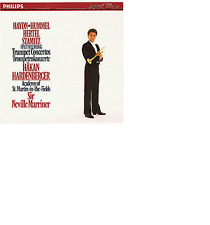 Hakan hardenberger trombe concerti Neville Marriner Philips CD (West Germany)