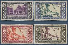 LAOS PA N°1/4*  Métier, Tisserand TB 1952,   Weaving Set MLH