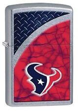 Zippo 29363 Houston Texans NFL Street Chrome Finish Lighter